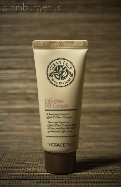 Review the face shop clean face oil free bb cream for Bb shopping it